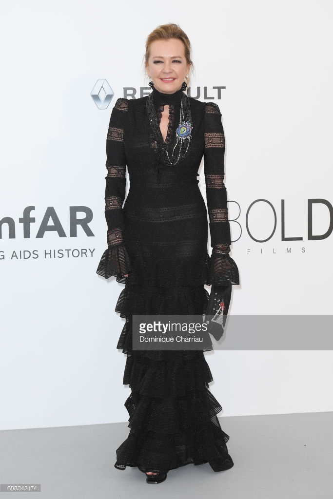 Cannes 2017 - Day 9 - AmfAR Gala - Chopard Co-President & Creative Director Caroline Scheufele