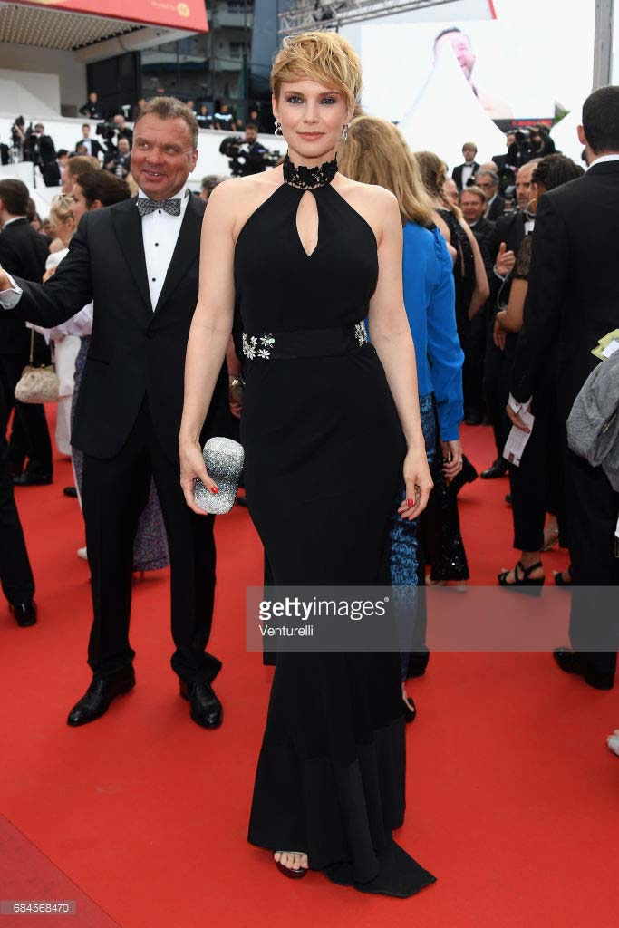 Cannes 2017 - Day 2 - Loveless première - Actress Andrea Osvart