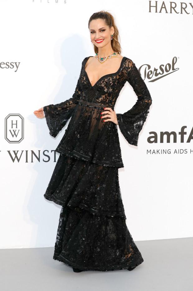 Cannes 2017 - Day 9 - AmfAR Gala - Model Ariadne Artiles