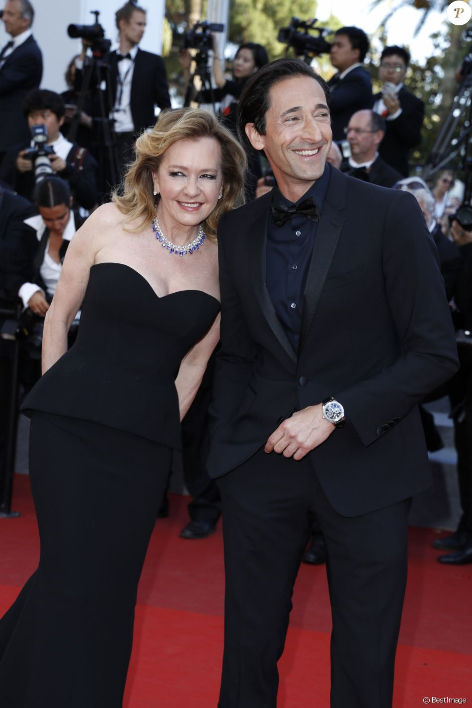 Cannes 2017 - Day 12 - Closing Ceremony - Chopard Co-President & Creative Director Caroline Scheufele and Adrien Brody
