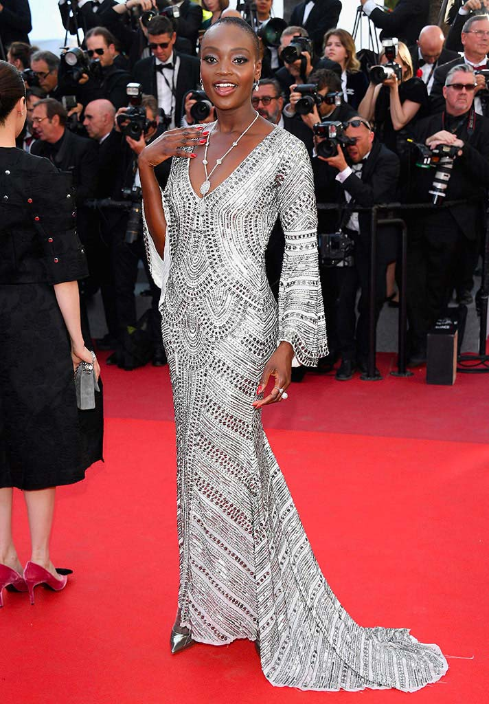 Cannes 2017 - Day 12 - Closing Ceremony - Top Model Miriam Odemba