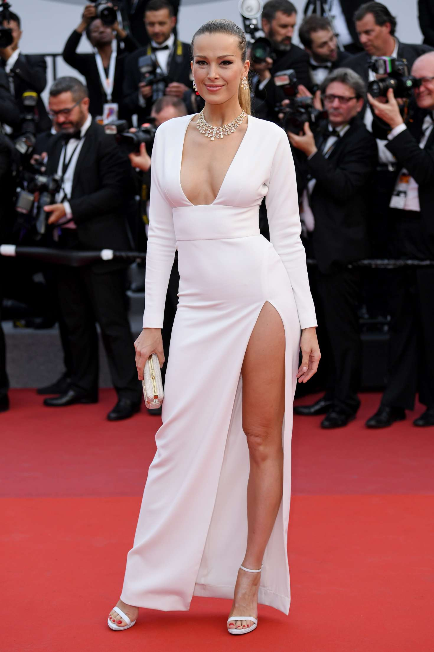 Cannes 2017 - Day 2 - Loveless première - Top Model & Chopard Ambassador Petra Nemcova