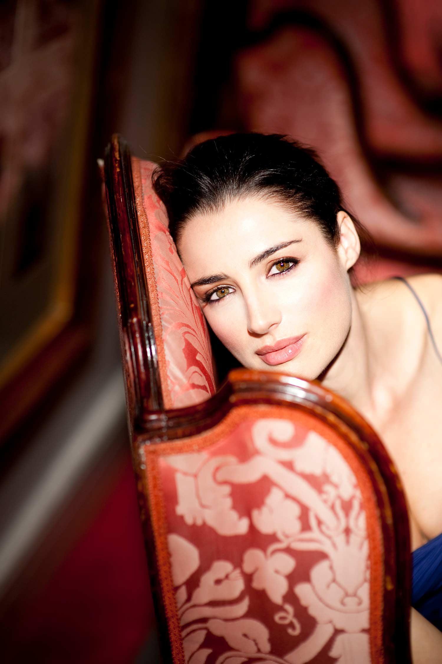Luisa Ranieri - Photo by Gianmarco Chieregato - Hotel Majestic Rome