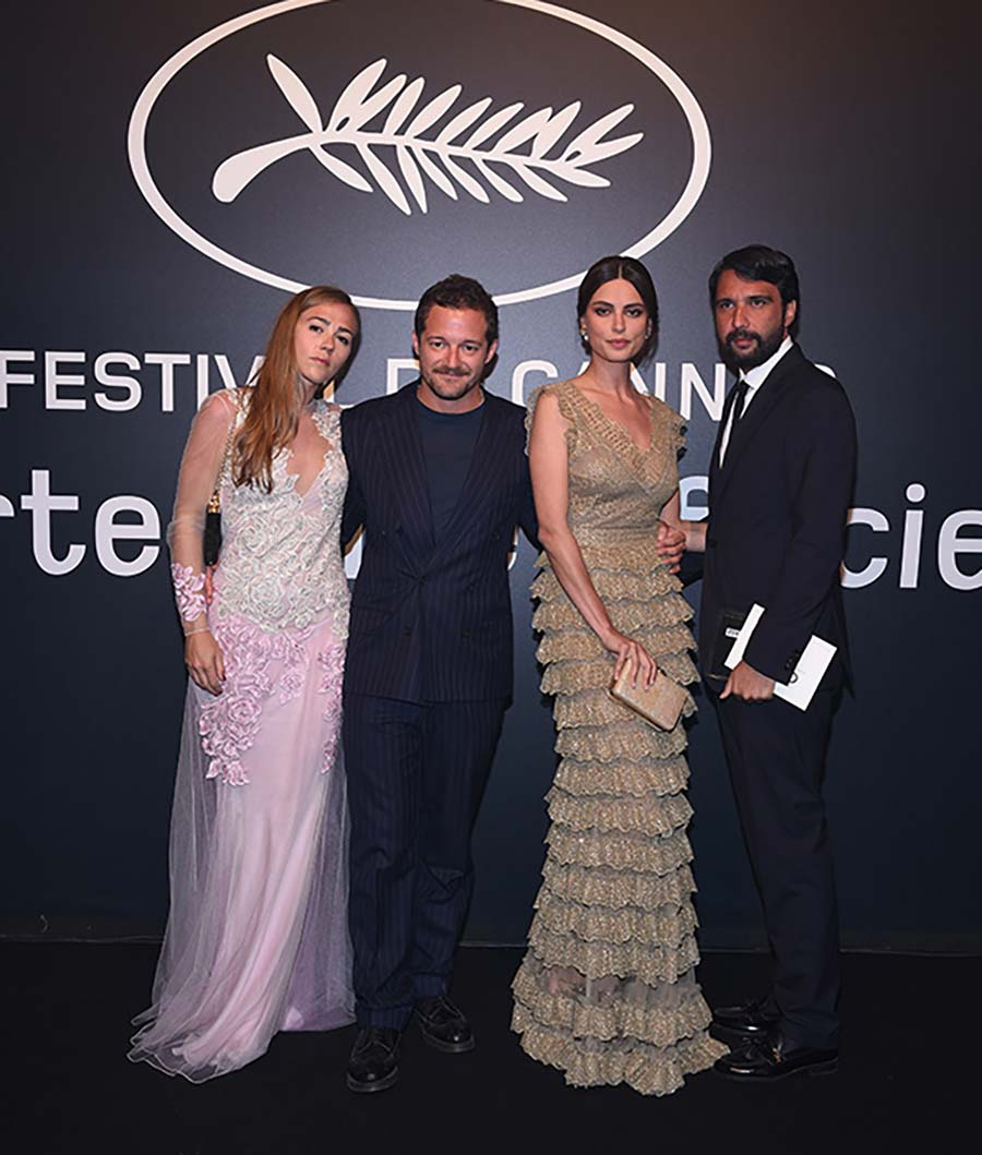 Cannes 2015 - Chopard Gold Party - Brando De Sica and Catrinel Marlon