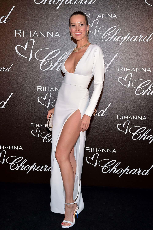 Cannes 2017 - Day 2 - Chopard & Rihanna dinner - Top Model & Chopard Ambassador Petra Nemcova