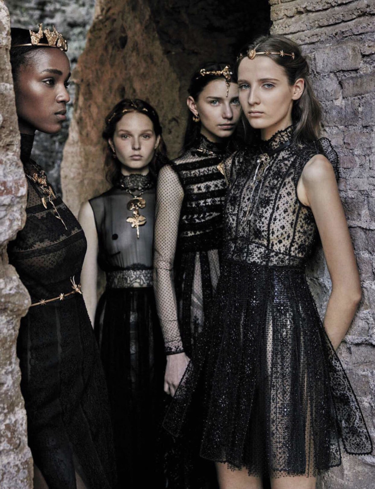 Valentino Haute Couture, photo by Fabrizio Ferri