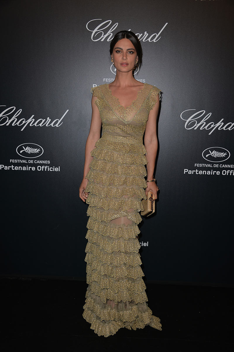 Cannes 2015 - Chopard Gold Party - Catrinel Marlon