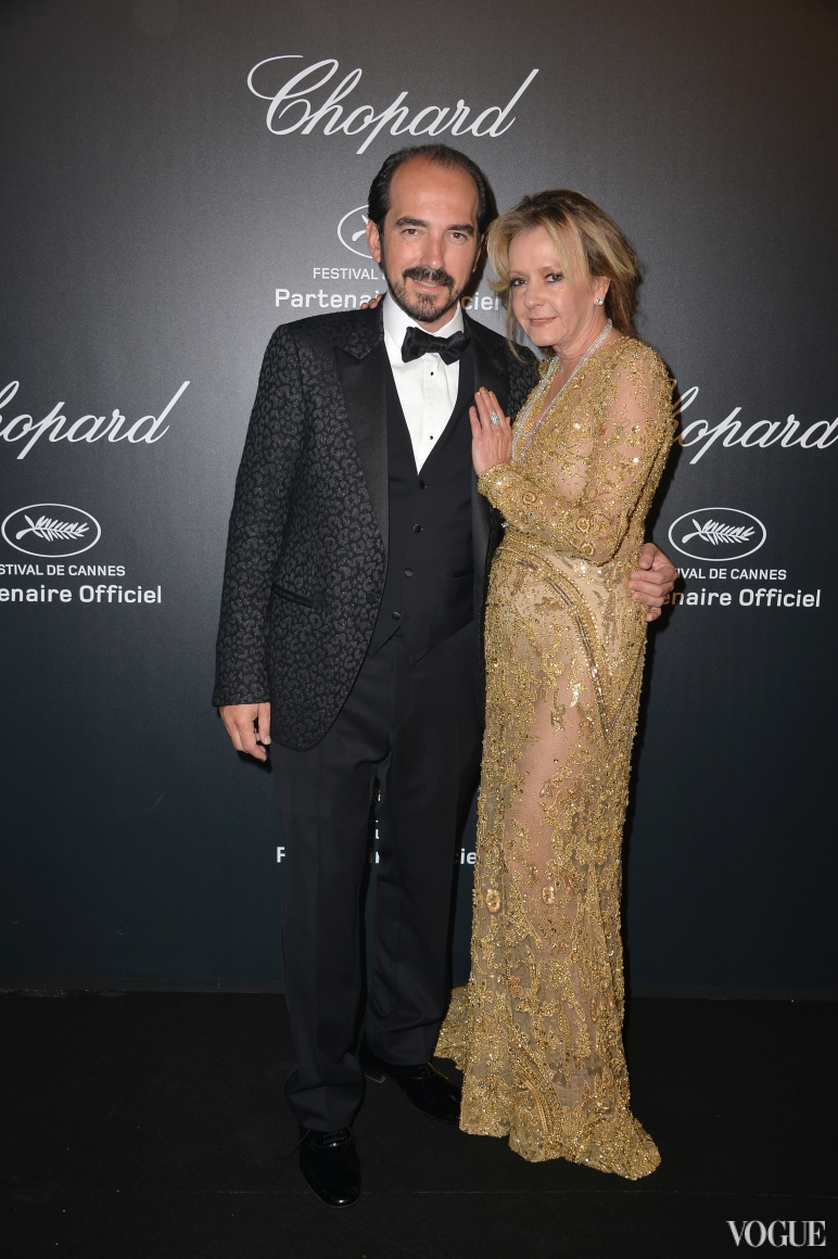 Cannes 2015 - Chopard Gold Party - Alexis Weller and Caroline Scheufele