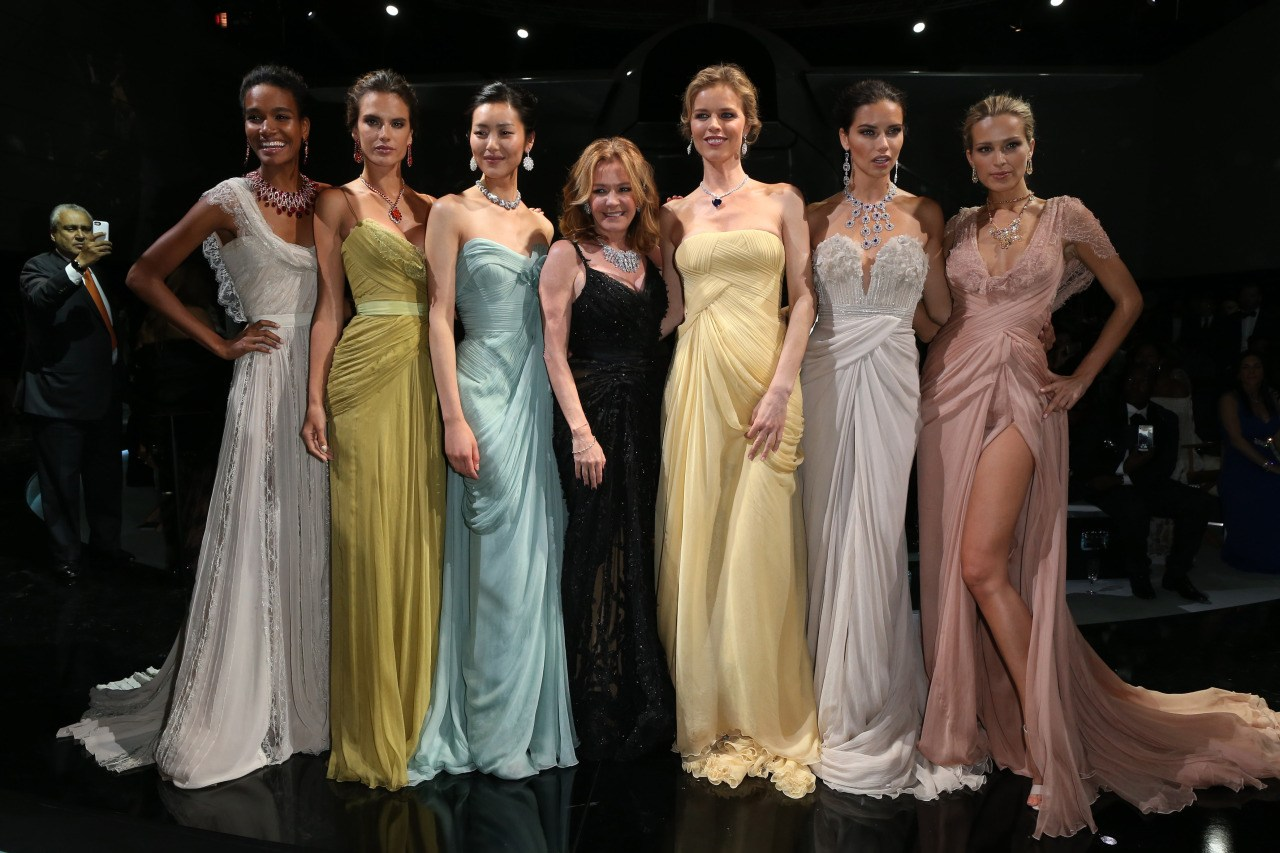 Cannes 2014 - Arlenis Sosa, Alessandra Ambrosio, Liu Wen, Caroline Scheufele, Eva Herzigova, Adriana Lima, Petra Nemcova