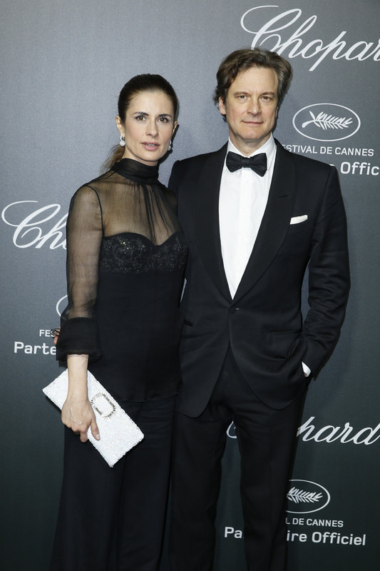 Cannes 2014 - Colin and Livia Firth