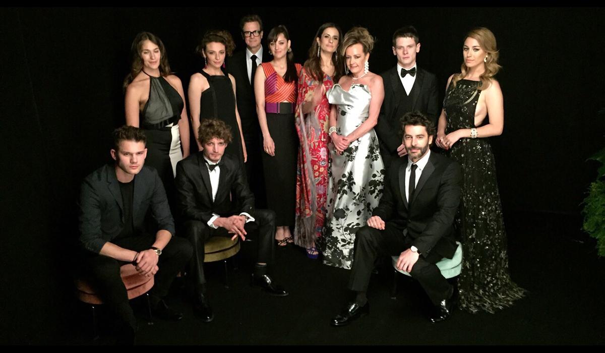 Cannes 2015 - Colin and Livia Firth, Marion Cotillard, Neil Schneider, Eduardo Noriega, Jasmine Trinca, Caroline Scheufele