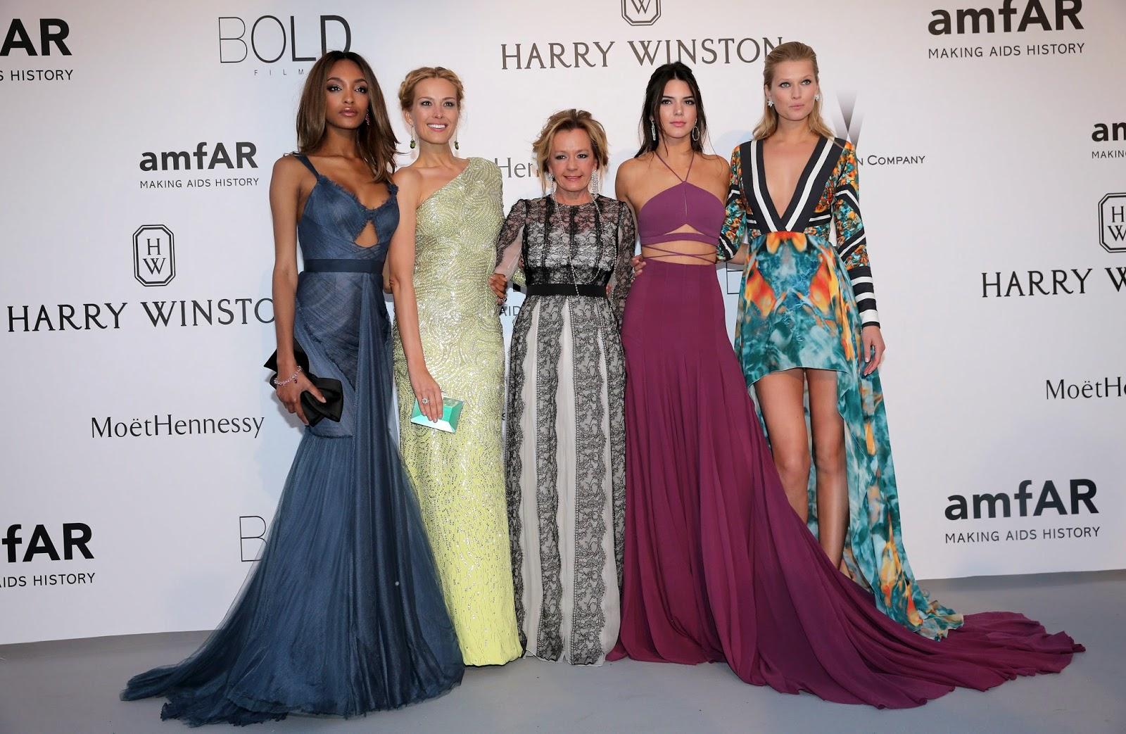Cannes 2015 - Jourdan Dunn, Petra Nemcova, Caroline Scheufele, Kendall Jenner and Toni Garrn