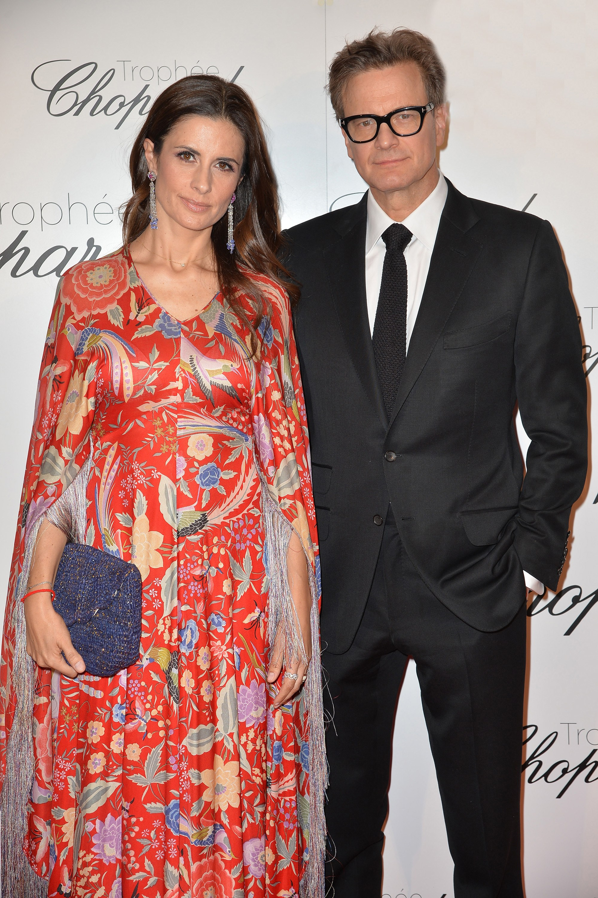 Cannes 2015 - Livia and Colin Firth
