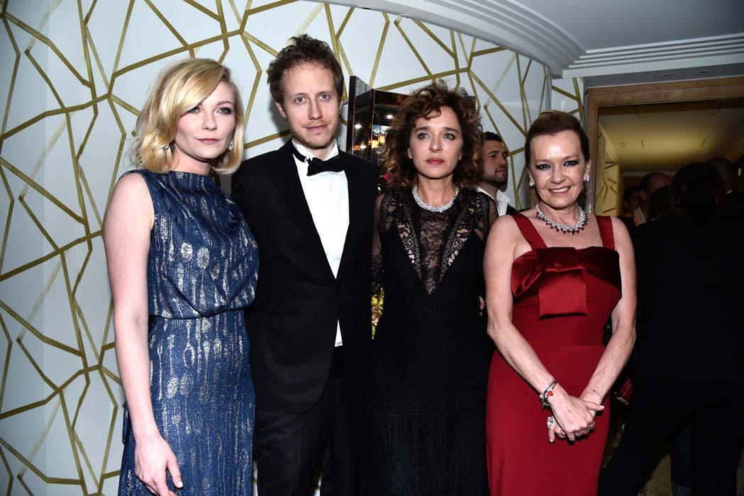 Cannes 2016 - Chopard - Caroline Scheufele, Valeria Golino, Kirsten Dunst