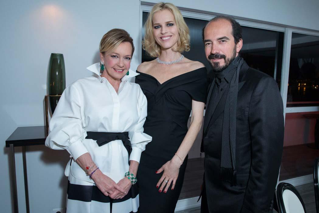Cannes 2016 - Chopard - Caroline Scheufele, Eva Herzigova & Alexis Veller