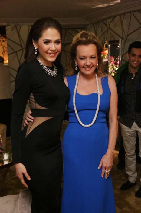 Cannes 2016 - Caroline Scheufele & Araya Alberta Hargate