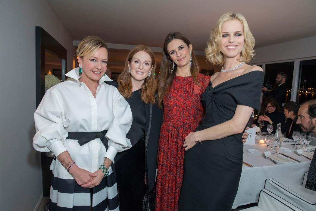 Cannes 2016 - Chopard - Caroline Scheufele, Eva Herzigova, Livia Firth & Julianne Moore