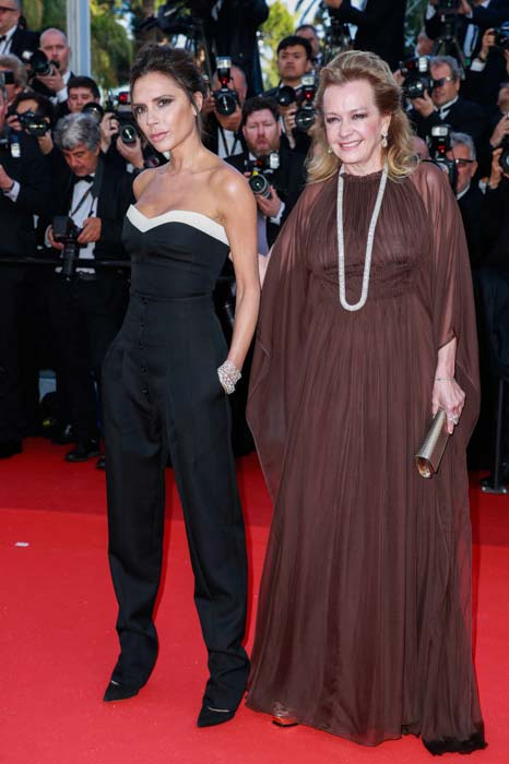 Cannes 2016 - Victoria Beckam & Caroline Scheufele