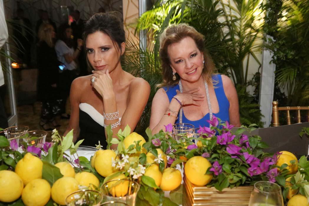 Cannes 2016 - Chopard- Dinner Victoria Beckam, Caroline Scheufele