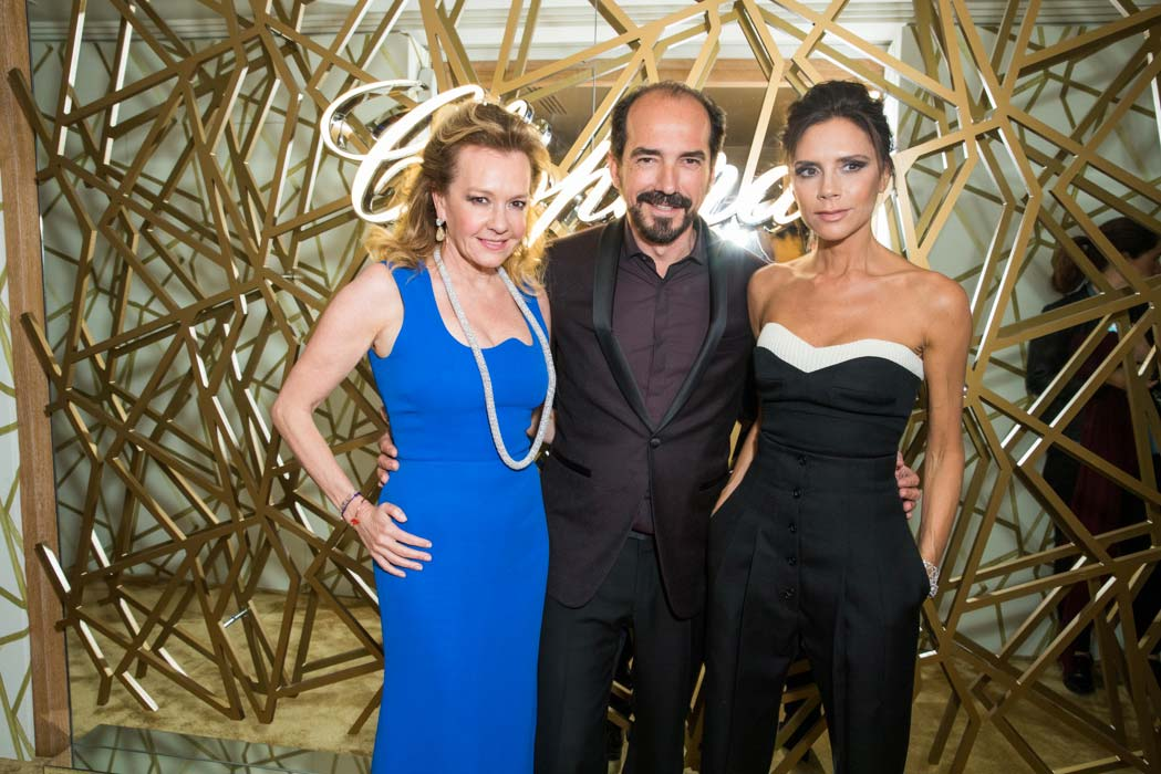 Cannes 2016 - Chopard - Dinner Victoria Beckam, Caroline Scheufele & Alexis Veller
