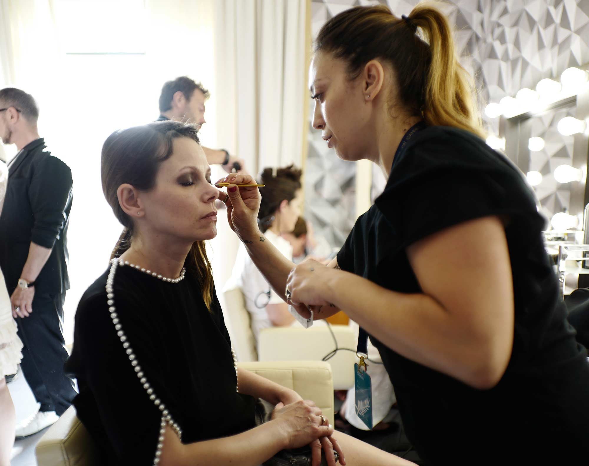 Cannes 2017 - Barbora Bobulova, make up Emanuela Di Giammarco