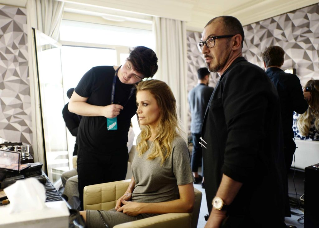 Cannes 2017 - Nicole Kimpel, hair Massimo Serini, make up Stanislao Iafulli