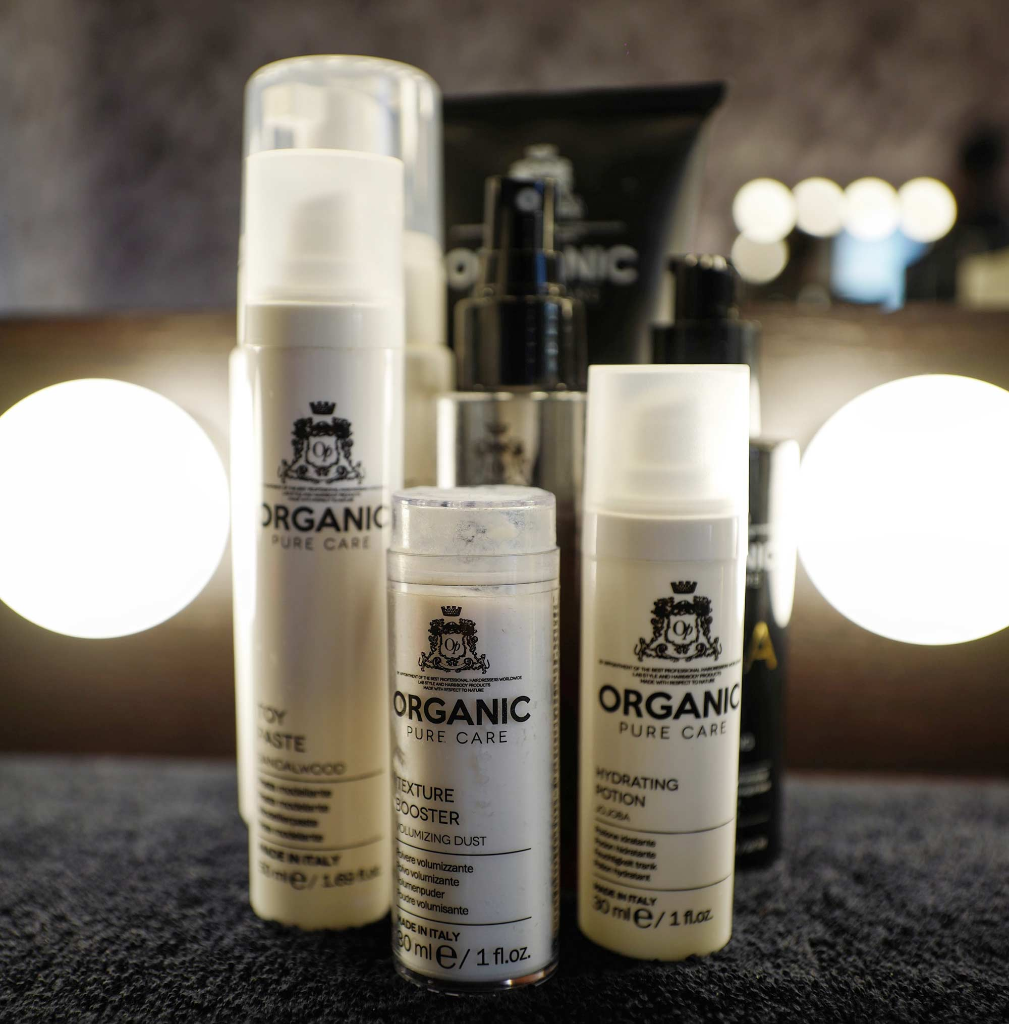 Cannes 2017 - Organic Pure Care products