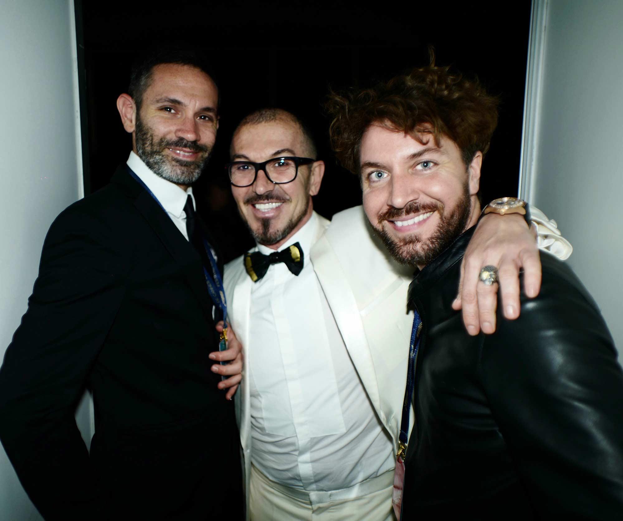 Cannes 2017 - Evento Space Chopard - Riccardo Monteleone, Massimo Serini, Samuele Miccoli