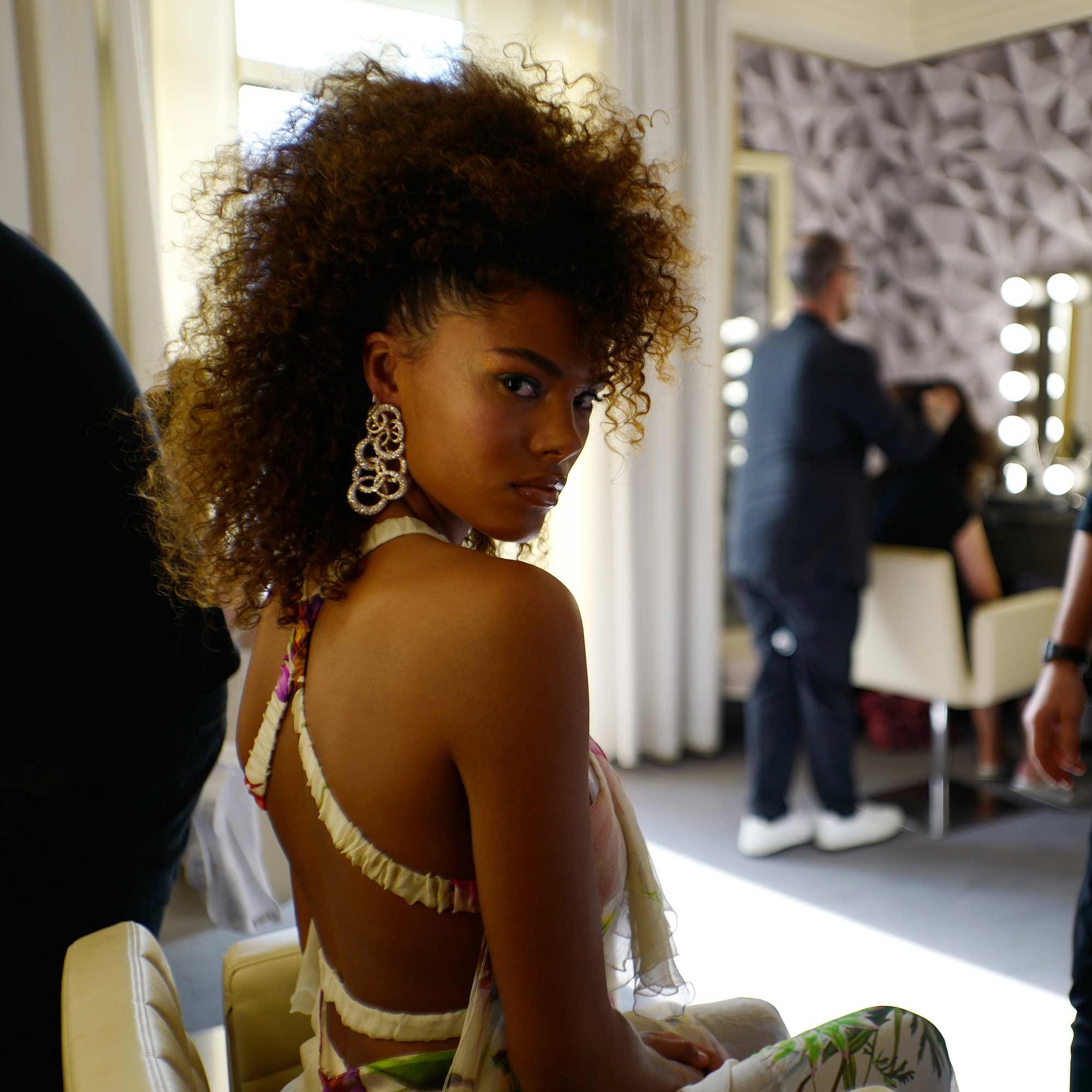 Cannes 2017 - Tina Kunakey - Hair Massimo Serini