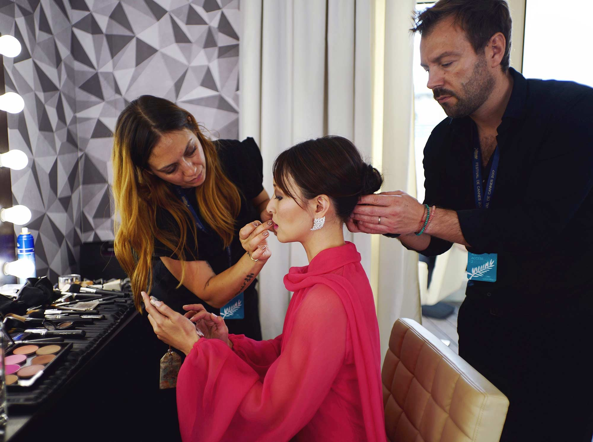 Cannes 2017 - Hair Beppe Rigoni, make up Manuela Di Giammarco