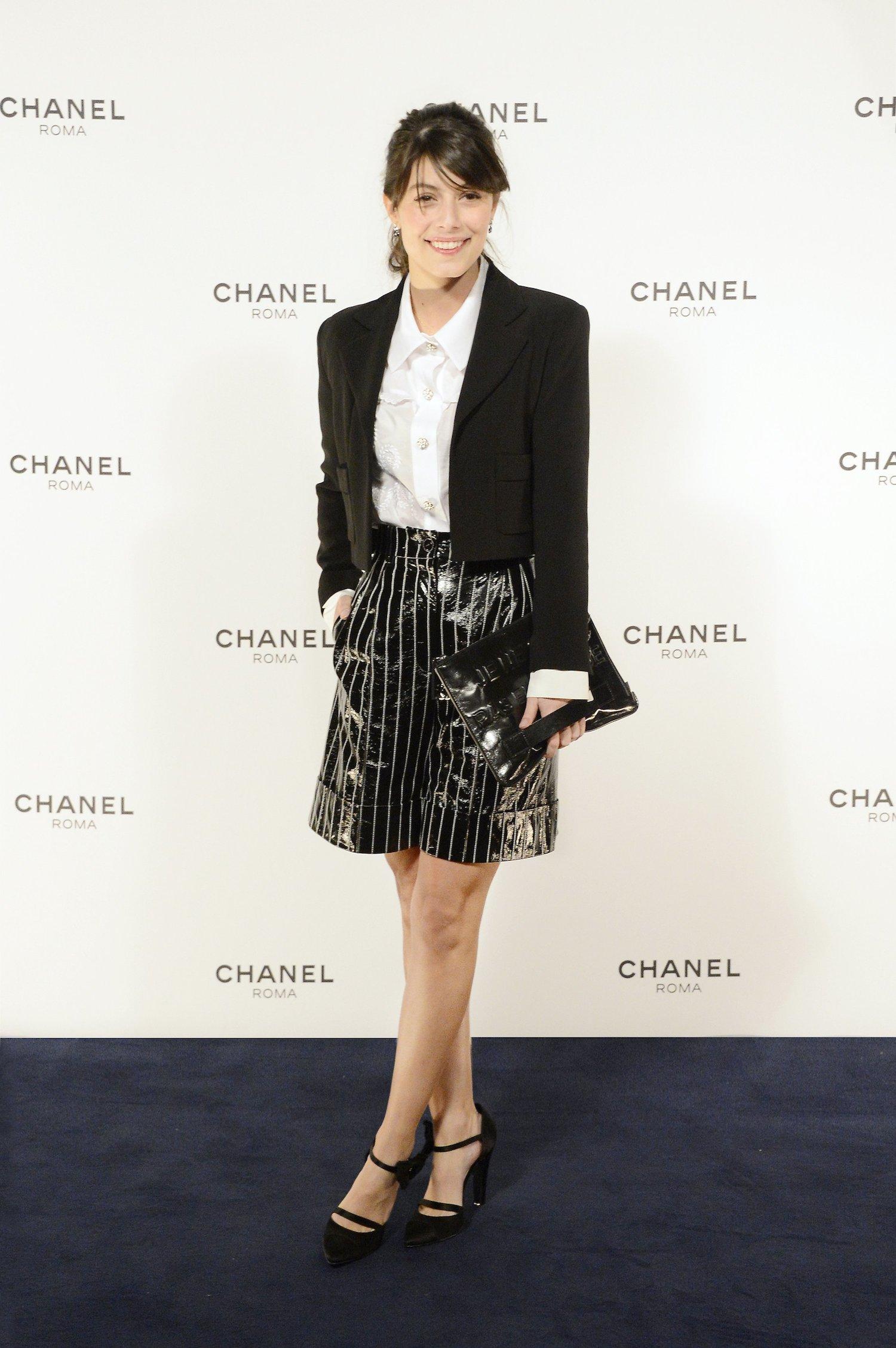 Chanel Rome Party Opening - Alessandra Mastronardi