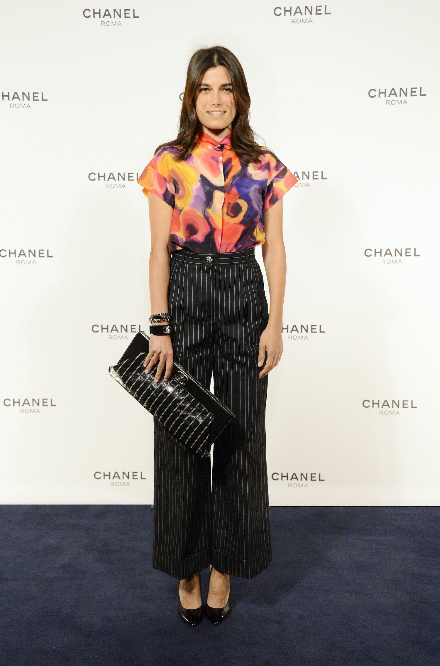 Chanel Rome Party Opening - Valeria Solarino
