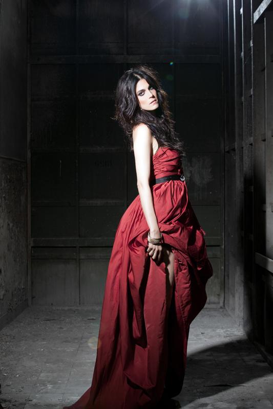 Donne In Luce - Valeria Solarino, photo by Riccardo Ghilardi