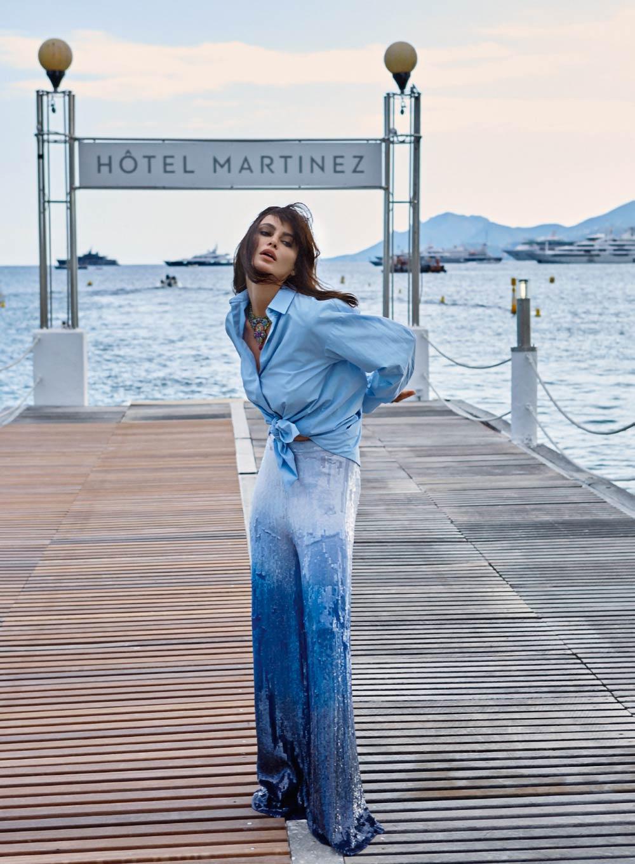 Elle Romania June 2018 - Catrinel Marlon - Hair & Makeup Massimo Serini