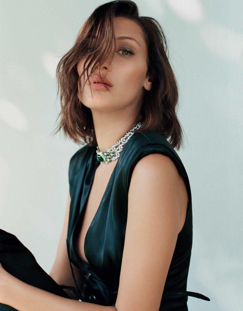 Elle Russia - Bella Hadid - September 2017 - Hair Riccardo Monteleone per Massimo Serini - Makeup Chiara Corsaletti per Massimo Serini