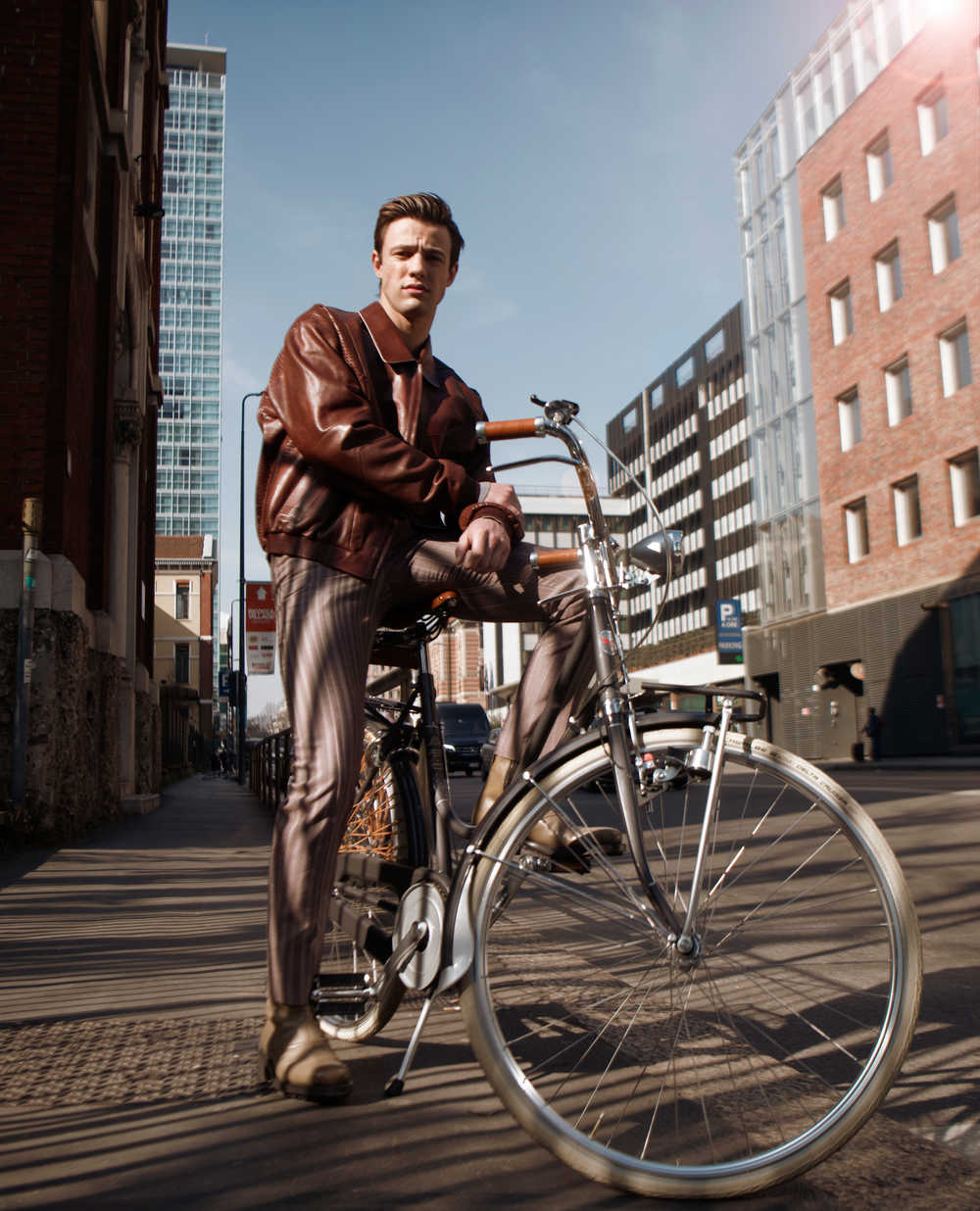 L'Officiel Hommes - Cameron Dallas to Milan - Photo by Frederic Monceau - Grooming by Massimo Serini