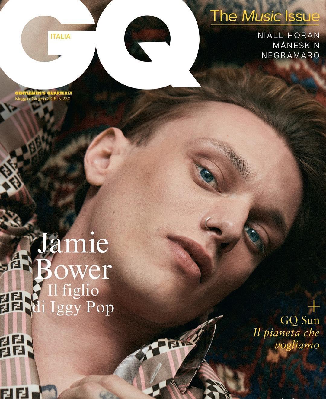 GQ Italia 2018 - Jamie Bower - Grooming Massimo Serini