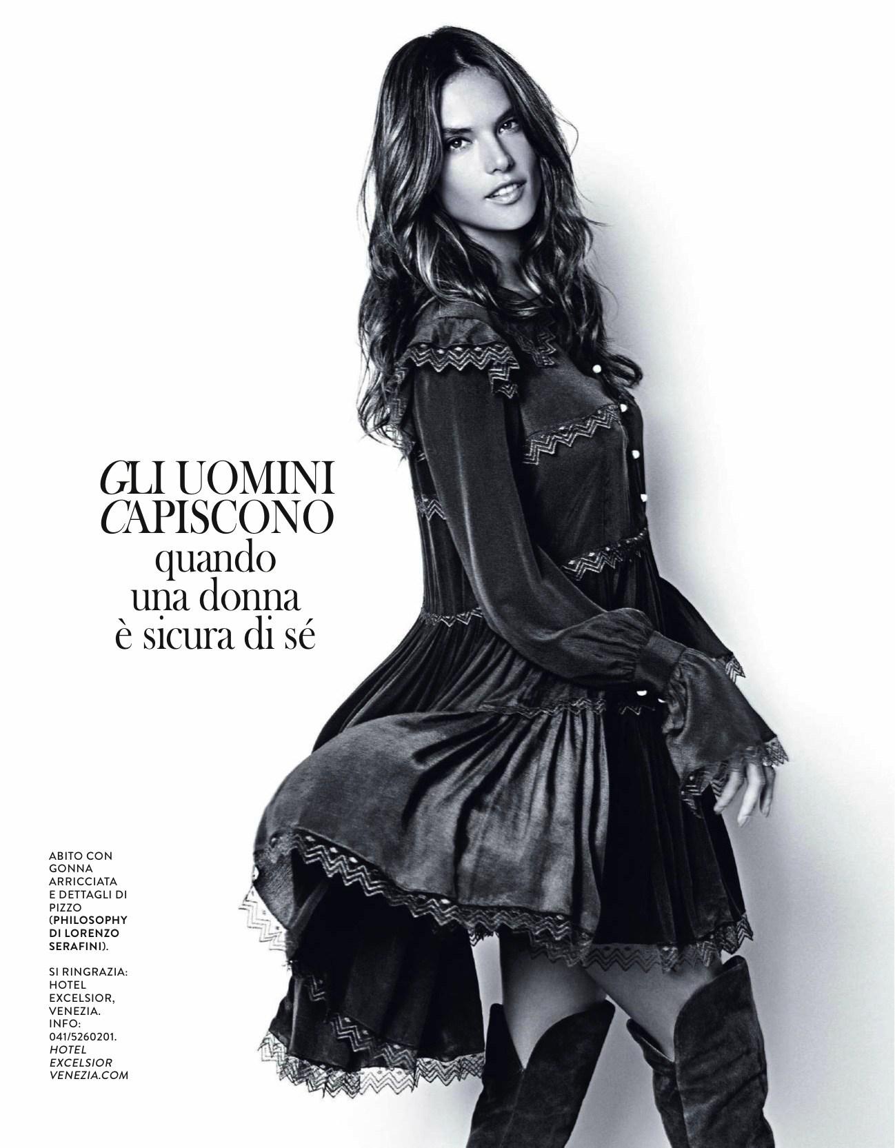 17.11.2015 - Grazia - Alessandra Ambrosio - Photo Julian Hargreaves - Style Ildo Damiano - Hair Massimo Serini