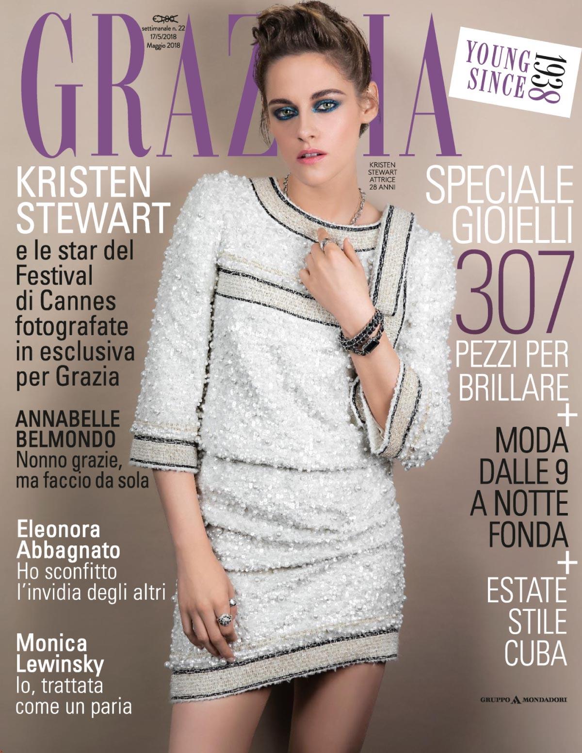 Grazia - Maggio 2018 - Cover