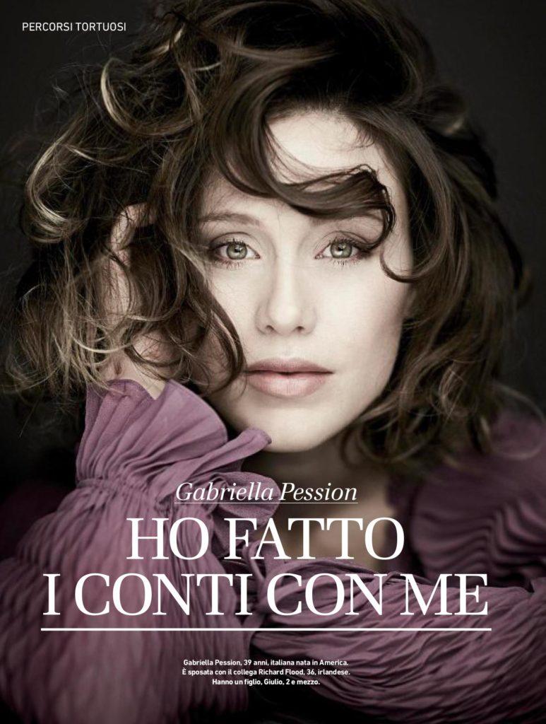 Io Donna - Corriere della Sera - 4 Marzo 2017 - Gabriella Pession - Hair Massimo Serini, photo by Giovanni Gastel