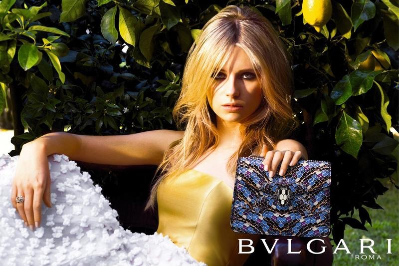 Bulgari Accessori - Lottie Moss - Photo by Michael Avedon