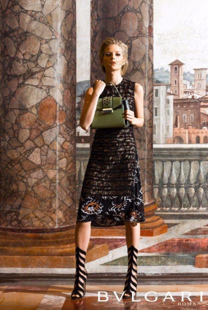 Bulgari Accessori - Lottie Moss - Photo by Michael Avedon
