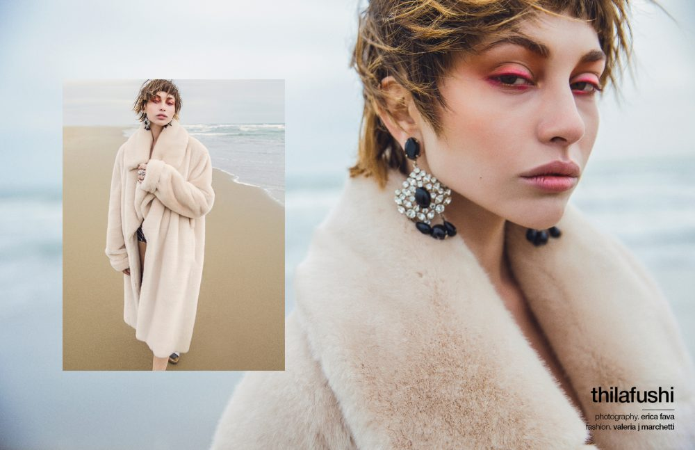 Schon Magazine - Thila Fushi - Hair Massimo Serini - Make Up Chiara Corsaletti - Stylist Valeria Marchetti - Ph. Erica Fava
