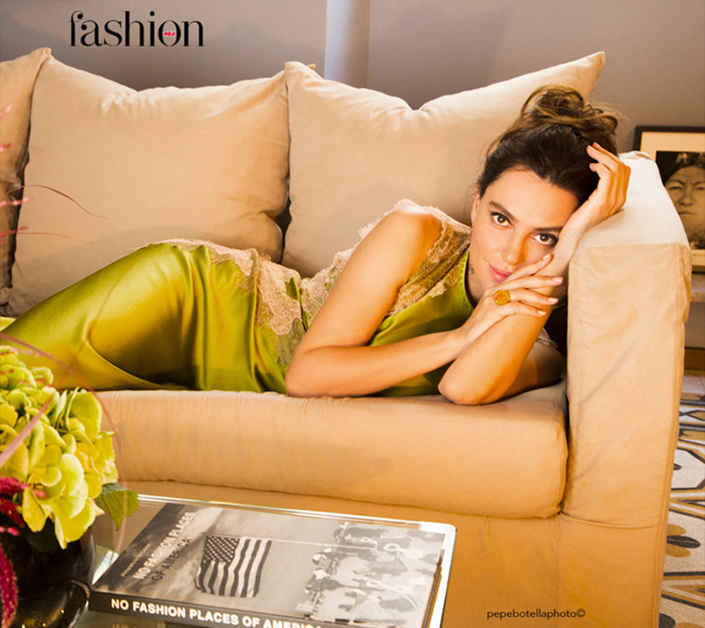 Fashion Hola! - 2017 - Catrinel Marlon - Makeup hair Massimo Serini
