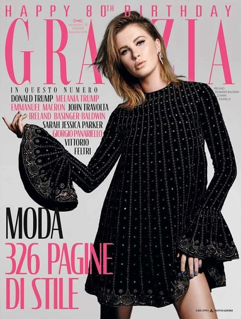 Grazia - Settembre 2018 - Cover