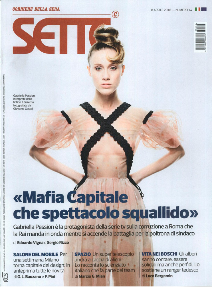Sette - Corriere della Sera - 8 aprile 2016 - Gabriella Pession - Hair Massimo Serini