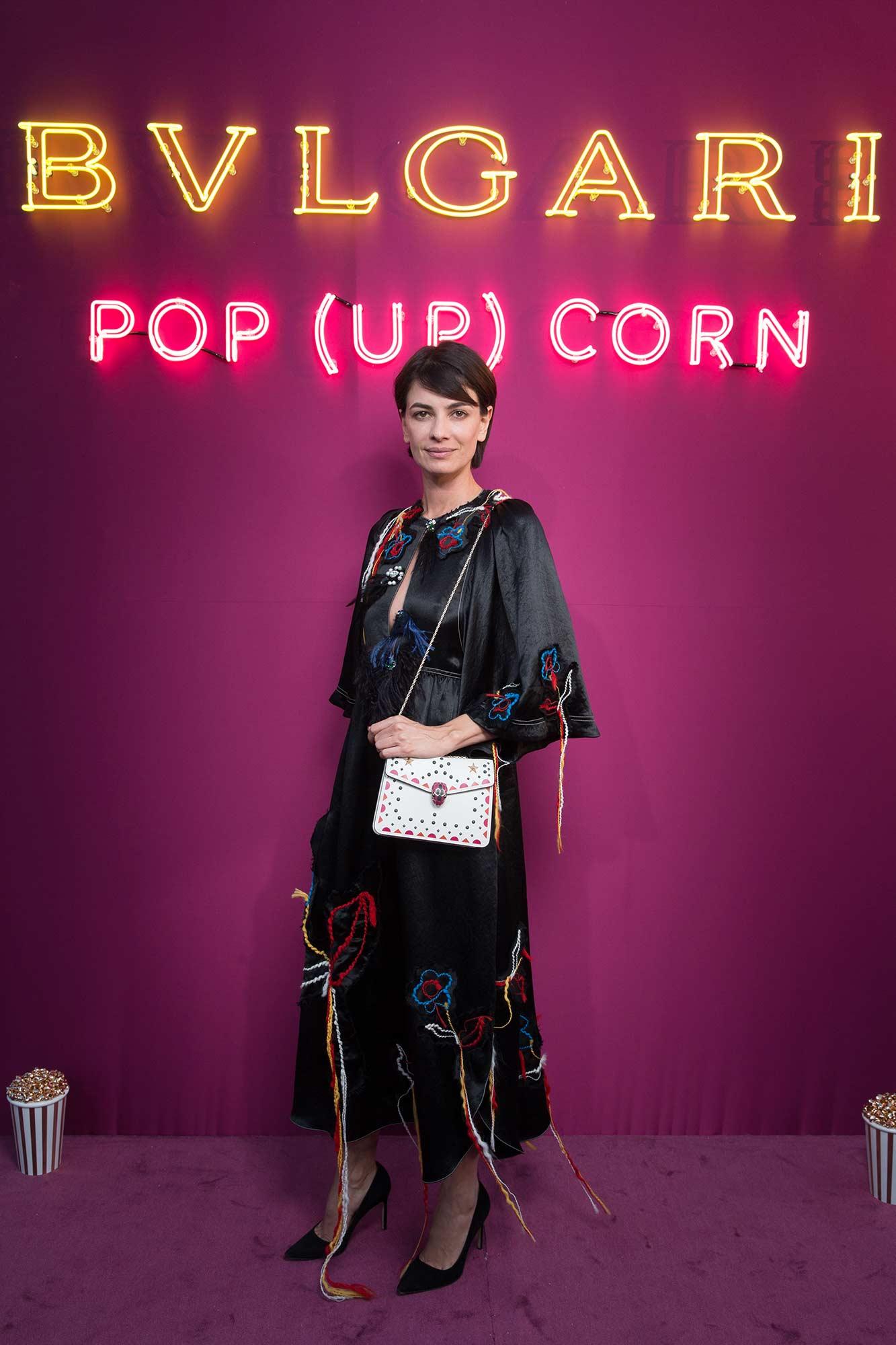 Bulgari - Pop-up store - Paris Galeries Lafayette - Leila Yavari - Hair & Makeup Massimo Serini