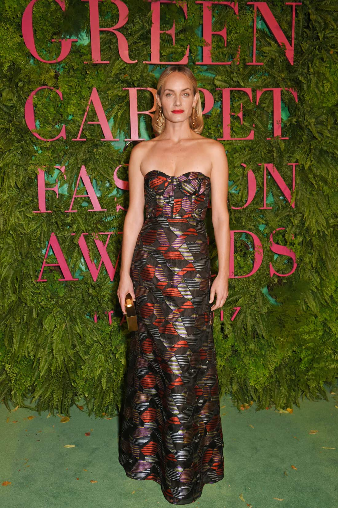 Green Carpet Fashion Awards Milano 2017 - Amber Valletta - Hair Massimo Serini