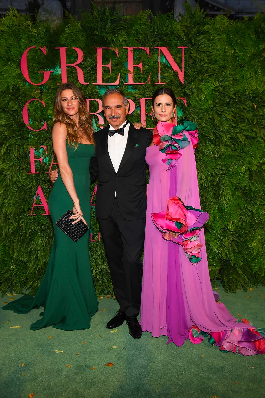 Green Carpet Fashion Awards Milano 2017 - Gisele Bundchen and Livia Firth - Hair & Makeup Massimo Serini
