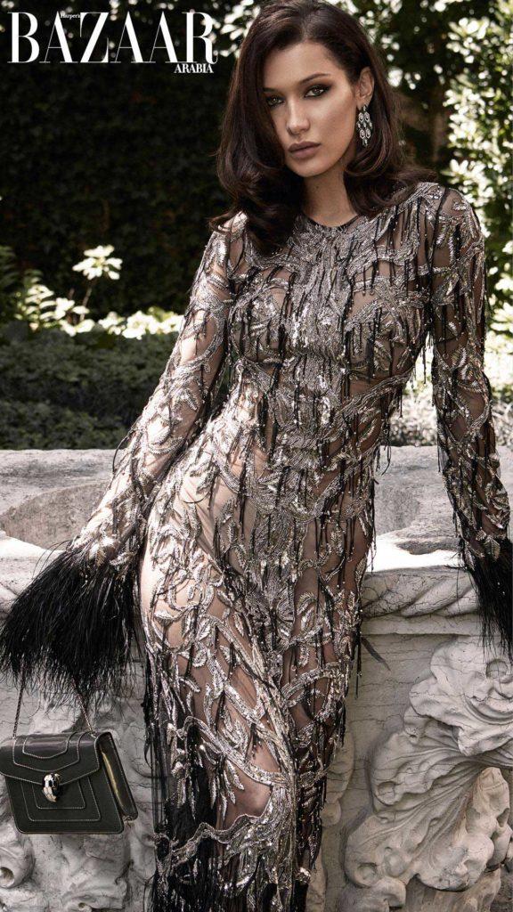 Harper's Bazaar Arabia - September 2017 - Bella Hadid - Hair Massimo Serini